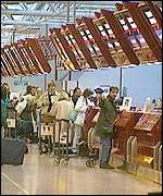Airport Check-In Desks