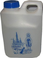 Lourdes Holy Water in Bottle
