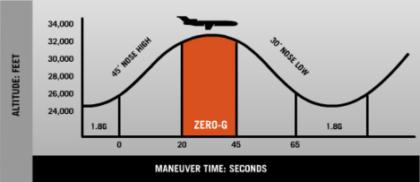 How do Zero G flights work?