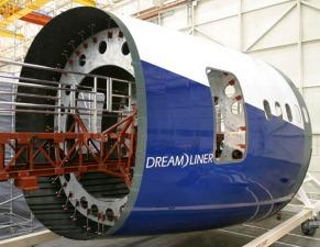 Boeing 787 Dreamliner Composite Fuselage - byBoeing