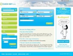 Click4Sky.comwebsite