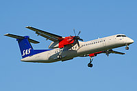 SAS Dash 8 turboprop