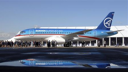 Sukhoi Superjet Revealed - by Reuters