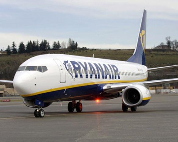 A RyanAir BoeingAircraft