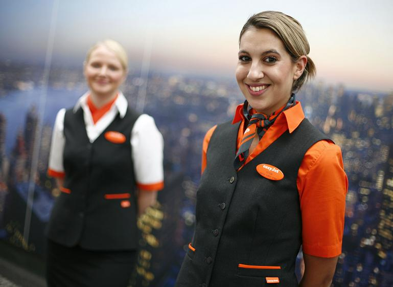 Uniform at Easyjet