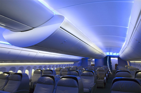 Boeing 747 keeps up with airbus 380 airline world for Boeing 747 8 interieur