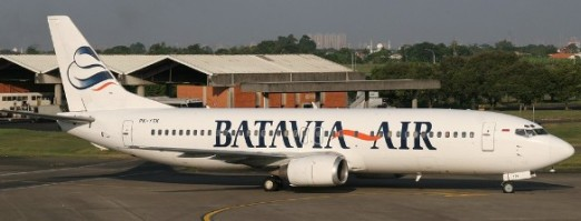 Batavia Boeing 737-400 (by airliners.net)