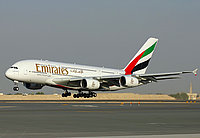 Emirates Airbues A380