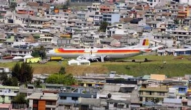 Iberia EC-JOH in Quito - by Reuters