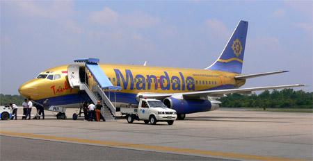 Mandala AirlinesB737-200