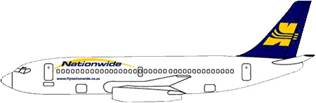 Nationwide Airlines737-200