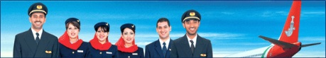 Oman Air uniforms