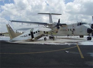 Nairobi Cessna 208 B accident