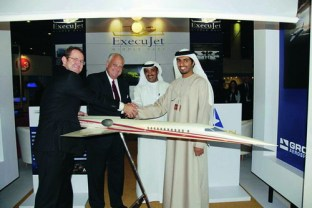 Aerion at the Dubai Air Show 2007
