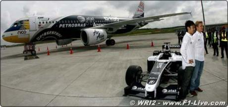 AirAsia WilliamsF1 livery Airbus A320 - by F1live.com