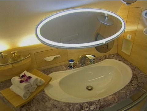Detail of Emirates First Class Lavatory (c by Airbus)