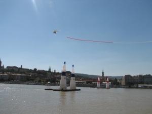 Glider over Budapest