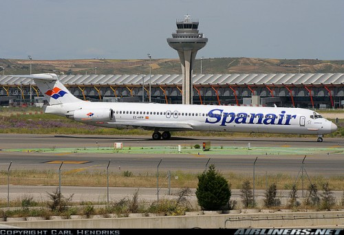 Spanair MD-82 (EC-HFP) at Madrid Barajas (by Carl Hendriks on airliners.net)