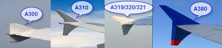 Airbus Winglets seen from onboard