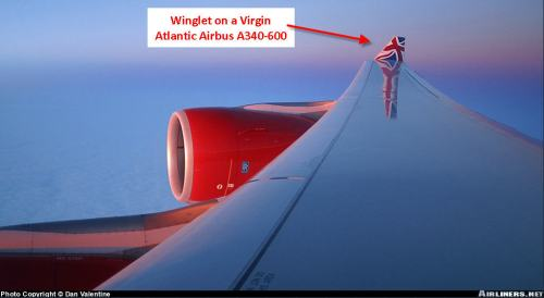 Winglet on Virgin Atlantic A340-600 - c by Dan Valentine on Airliners.net