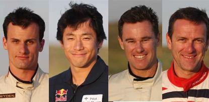 4 new pilots in Red Bull Air Race 2009