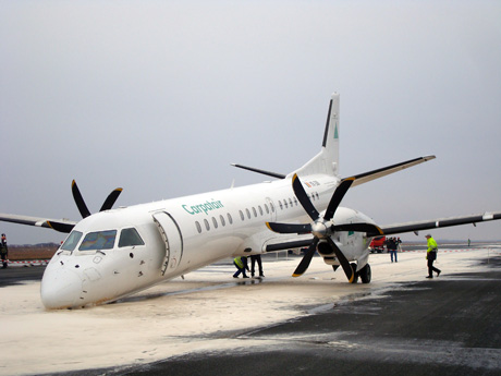 Carpatair Safe Emergency Landing