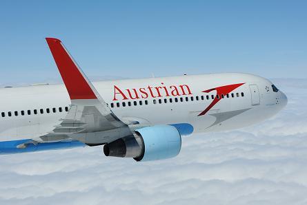 Austrian Airlines Boeing 767 Winglet