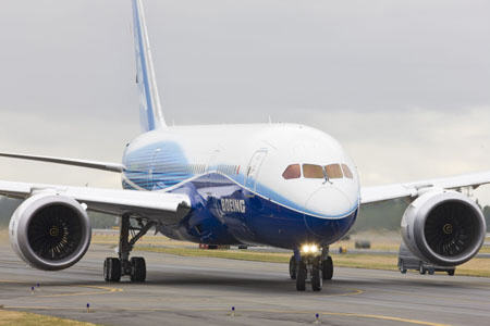 Boeing 787 Dreamliner Low Speed Taxi Test - c by Boeing.com