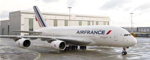 A380 in new AirFrance Livery