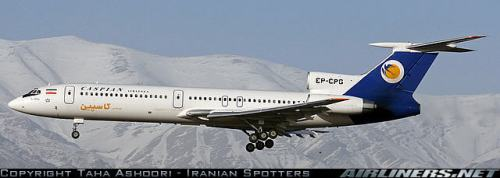 A Caspian Airlines TU154 - by Taha Ashoori on Airliners.net