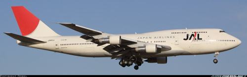 Japan Airlines Boeing 747-300 (used from 1983) - c by Dobel on airliners.net