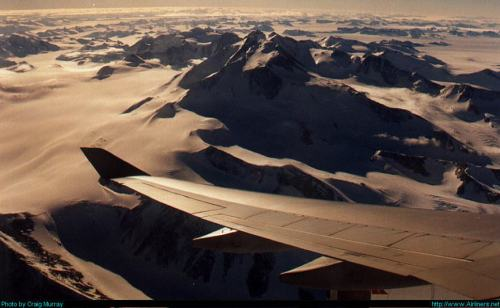 Qantas Over Antarctica by Craig Murray on airliners.net