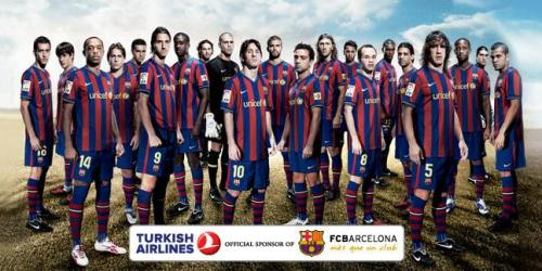 Turkish Airlines Sponsors FC Barcelona AND Manchester United