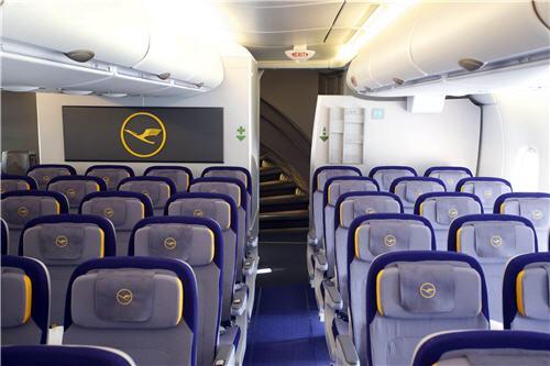 The first Lufthansa Airbus A380 ...