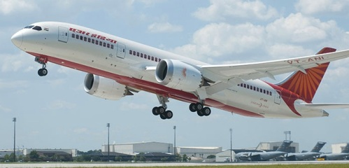 Air India's first Boeing 787-800 Dreamliner - photo by Boeing