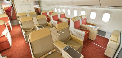 Air India Boeing 787 Dreamliner Business Class - photo by Boeing
