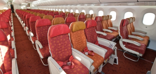 Air India Boeing 787 Dreamliner Economy Class - photo by Boeing