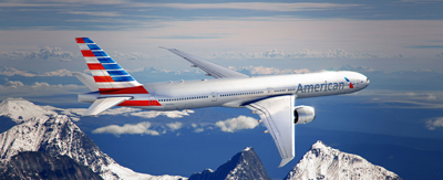 American Airlines New Livery Boeing 777 - courtesy of AA