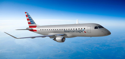 American Eagle New Livery Embraer E-175 - courtesy of AA