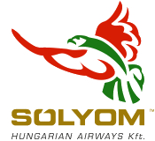 Solyom Hungarian Airways Logo
