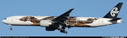 Air New Zealand Boeing 777 with Hobbit special livery - by  James Mepsted on airliners.net