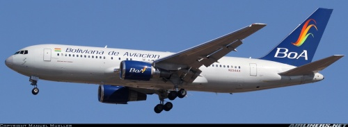 BoA Boeing 767-200 - by Manuel Mueller on airliners.net